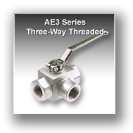 Ae3 Series Three Way Block Body Threaded Hydraulic