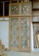 Windows and window frames wooden