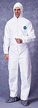 Tyvek 1414 Suit With Hood & Boot 25/cs (2x-4x)