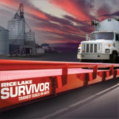 Truck Scale Rice Lake Survivor OTR Steel Deck