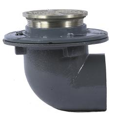 Floor Drain with Round Strainer and NH Side Outlet