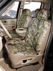 Leather Custom-Fit Seat Covers