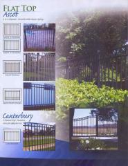 Aluminum Fence Range