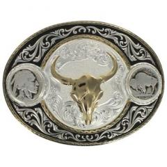 Montana Silversmiths Buffalo Indian Head Nickel