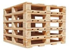 New and Reconditioned Wooden Pallets