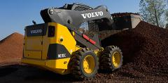 Volvo MC60C, MC70C skid steer: All-terrain