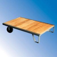 IBSL Series (Steel Bound Wood Deck Semi-Live Skid)