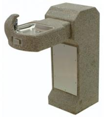 Barrier Free Pedestal Mount Square Concrete