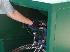 Bike-Stor Bicycle Security Lockers / Model M