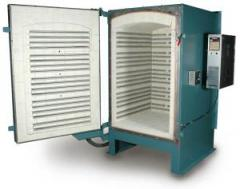 Easy-Load Front-Loading Large Production Kilns