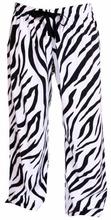 Flannel Zebra / Tiger Stripe Pajama Lounge Pants