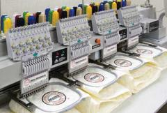Model E0900 Series Automated Border Embroidery
