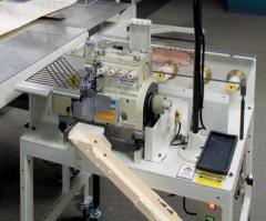 Semi-Automatic Safety Stitch Border, Miter