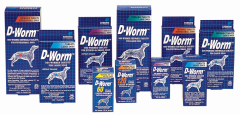 D-Worm For Puppies and Dogs