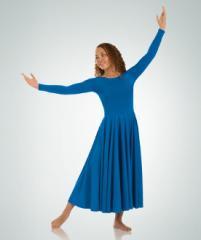 Long Sleeve Dance Dress Body Wrappers