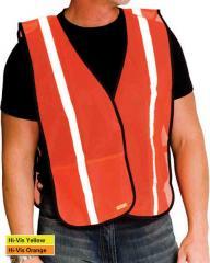 Hi Visibility Orange Safety Vest GSC -
