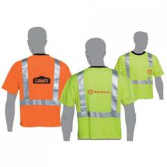 Lime Class Two Compliant Safety T-shirts Atteff