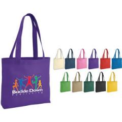 Silkscreen Tote Bag with Gusset