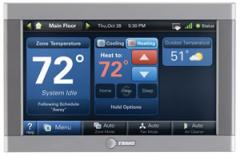 Thermostats - XL950 7-Inch Color Touchscreen