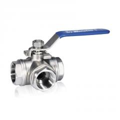 Direct Operated, Bi-Directional Flow ball Valve