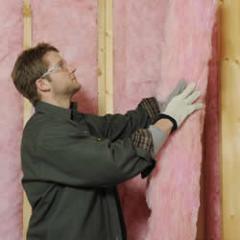 Insulating Exterior Walls with PINK FIBERGLAS™