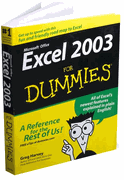 Books, Excel 2003 for Dummies