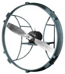 Direct Drive Ring Fan, Standard Flow