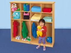 Cubbies and Coats Storage Center