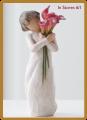 """21.5"""" Daisy Angel"""