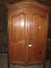 Pine French armoire