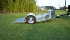 Custom Airlift EasyLoad Motorcycle Trailer