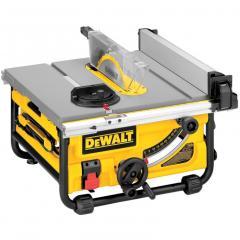 DeWalt® 10in Compact Job Site Table Saw (DW745)