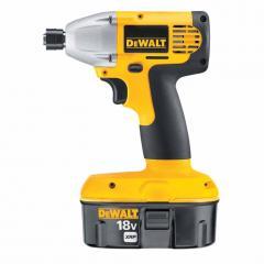 DeWalt® Heavy Duty 1/4in 18V Impact Driver Kit