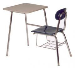 1787 Heavy Duty Combo Chairdesk