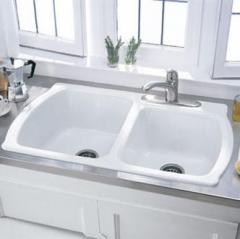 Chandler Americast® Double Bowl Kitchen Sink