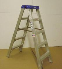 20004 Aluminum Two-Way Stepladder Type IA 300 lb.