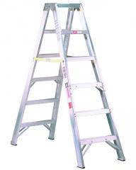 Aluminum Two-Way Stepladder Type IA 300 lb. Rated.