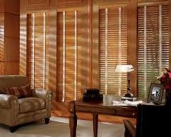 "2"" Hunter Douglas Wood Blinds"