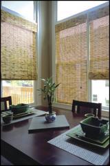Woven Wood Roman Shades