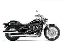 Yamaha V Star Custom Motorcycle