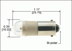 LED Light Bulbs Miniature Bayonet