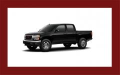GMC Canyon Crew Cab 4-Wheel Drive SLE-2 2012 Truck