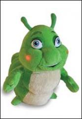 Hermie, a Common Caterpillar; Plush with Lights