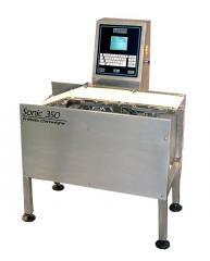 Sonic 350 In-Motion Checkweigher with 3-belt
