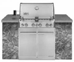 SUMMIT S-460 BUILT-IN Natural Gas Grill