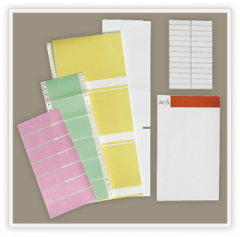 Blank and Color Coded Labels