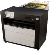The KIP C7800 is a wide color printer