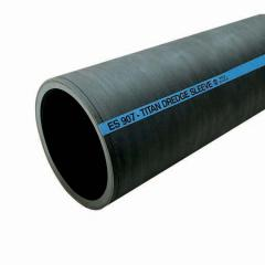"Es907 Dredge Sleeve - 3/8"" Natural Rubber Tube"