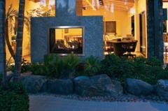 Montebello® See-Through gas fireplace