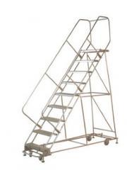 Multi Directional Rolling Steel Ladders
